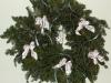 Fresh Christmas Wreaths - White Bows