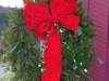 Decorated Fresh Christmas Wreaths - Bright Red